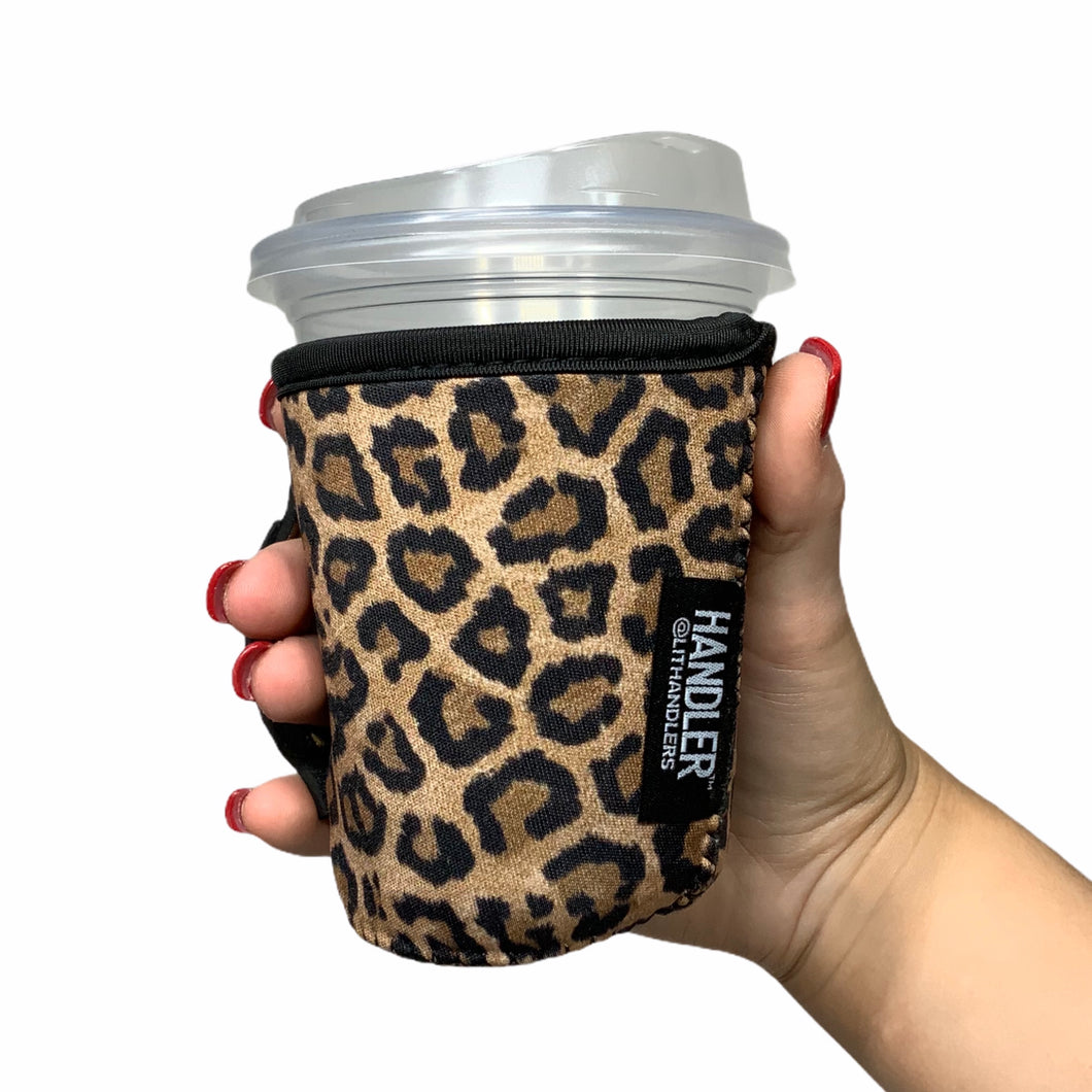 Leopard 12oz Small/Tall Coffee Handler