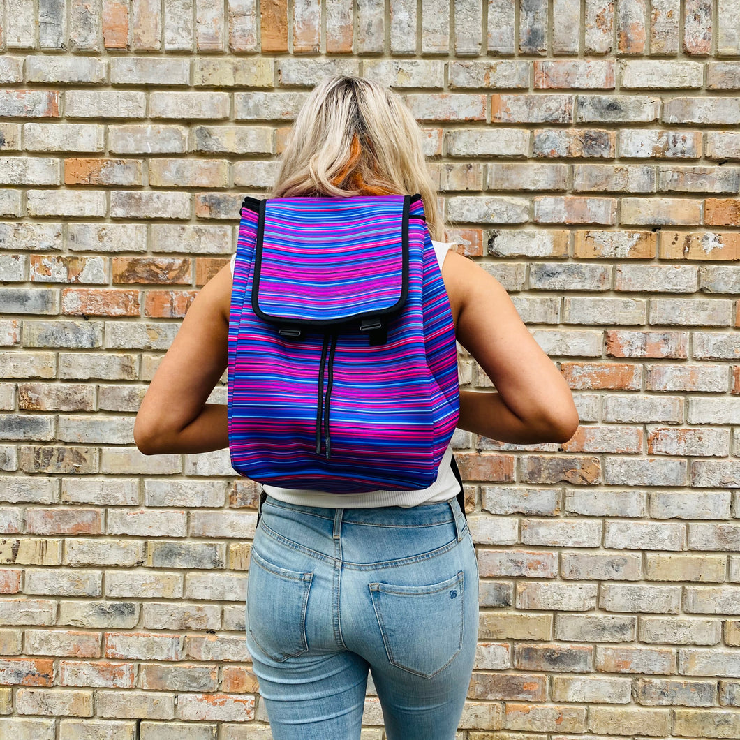 Purple Serape Backpack