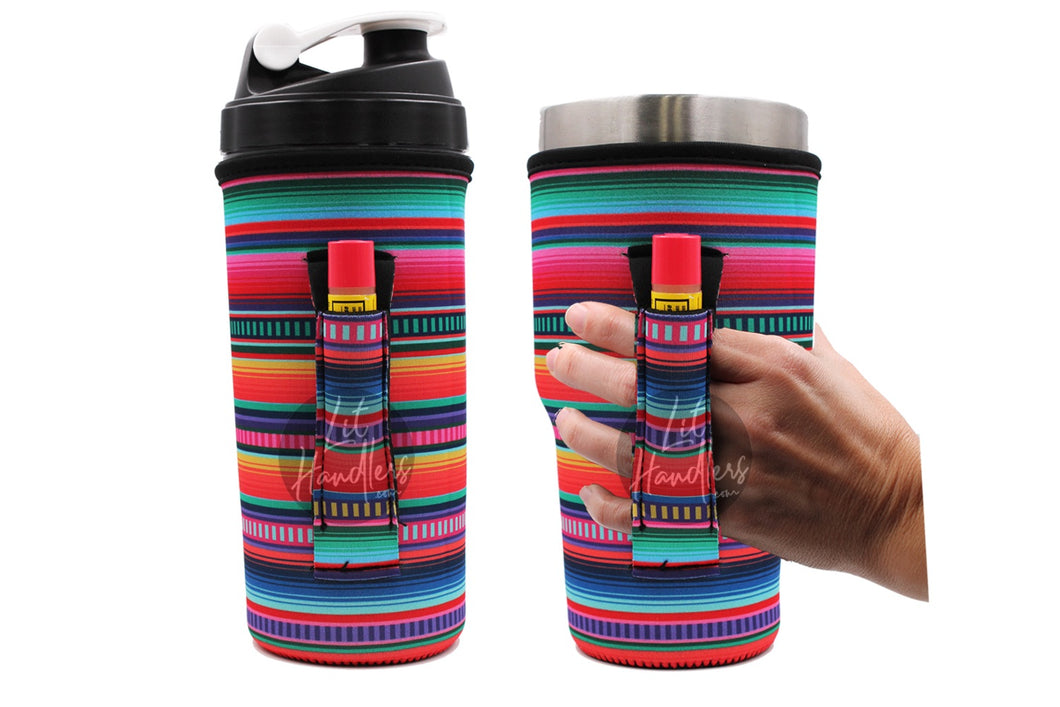 Serape 30OZ Handler With Pocket fits Blender Bottles & YETI®