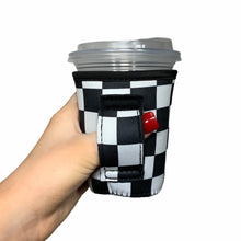 Load image into Gallery viewer, Checkerboard 12oz Small/Tall Coffee Handler