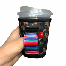 Load image into Gallery viewer, Camo W/ Serape 12oz Small/Tall Coffee Handler™