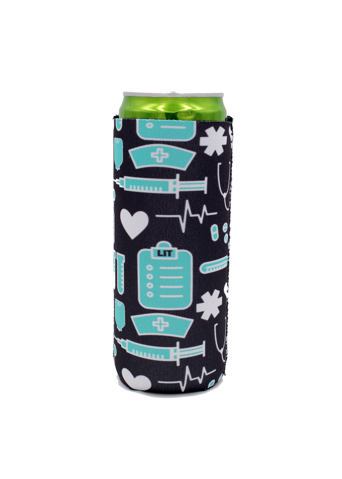 Nurse 12 OZ Slim can cooler