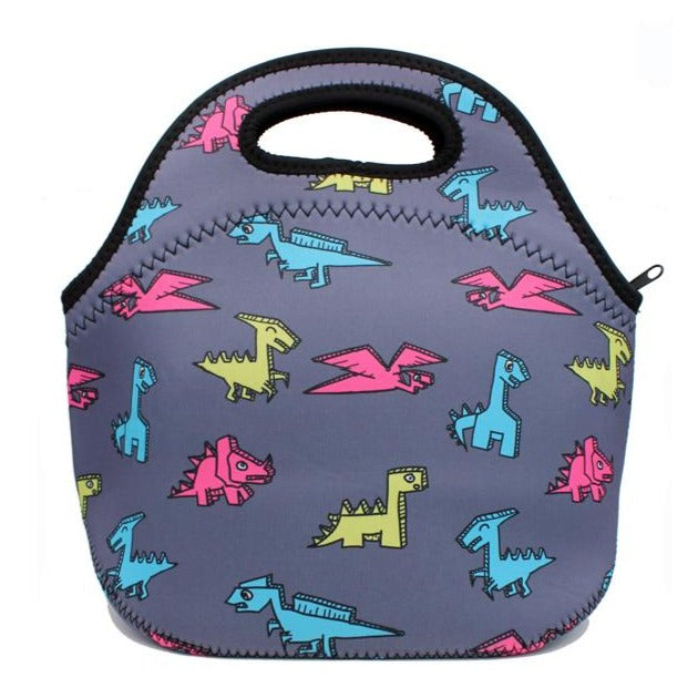 Paper Dinosaurs Lunch Tote