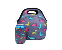 Load image into Gallery viewer, Paper Dinosaurs Lunch Tote