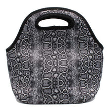 Load image into Gallery viewer, Snakeskin Lunch Bag