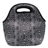 Snakeskin Lunch Bag Tote
