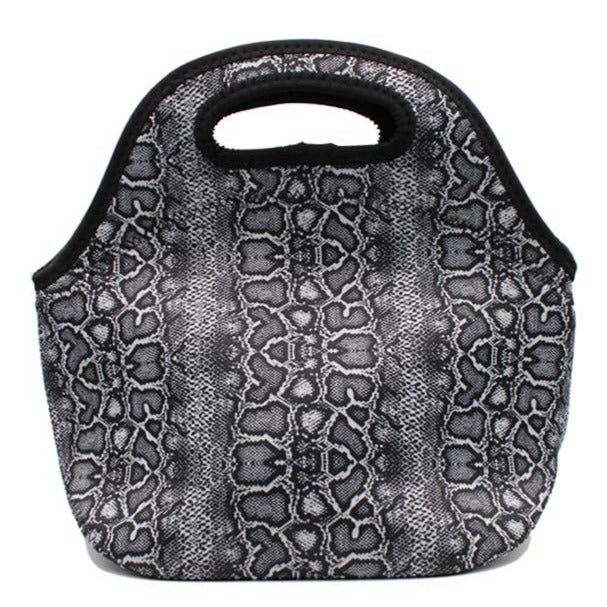 Snakeskin Lunch Bag