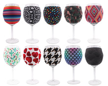 Load image into Gallery viewer, Camo Wine Glass Sleeve