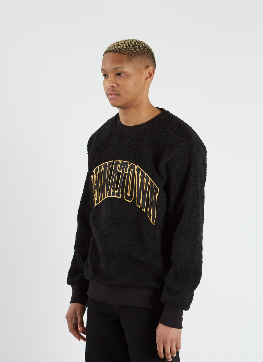 Arc Sherpa Crewneck - Black