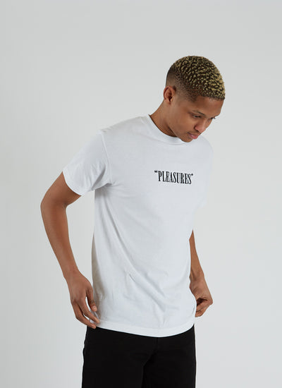 Core Logo Embroidered T-shirt - White