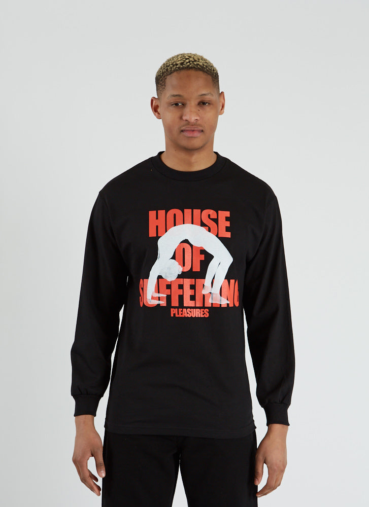 House of Suffering Long Sleeve T-shirt - Black