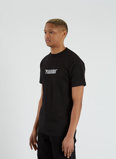 Core Logo Embroidered T-shirt - Black