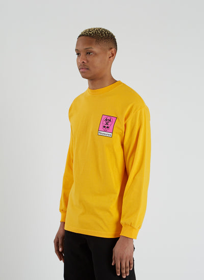 Biohazard Long Sleeve T-shirt - Gold