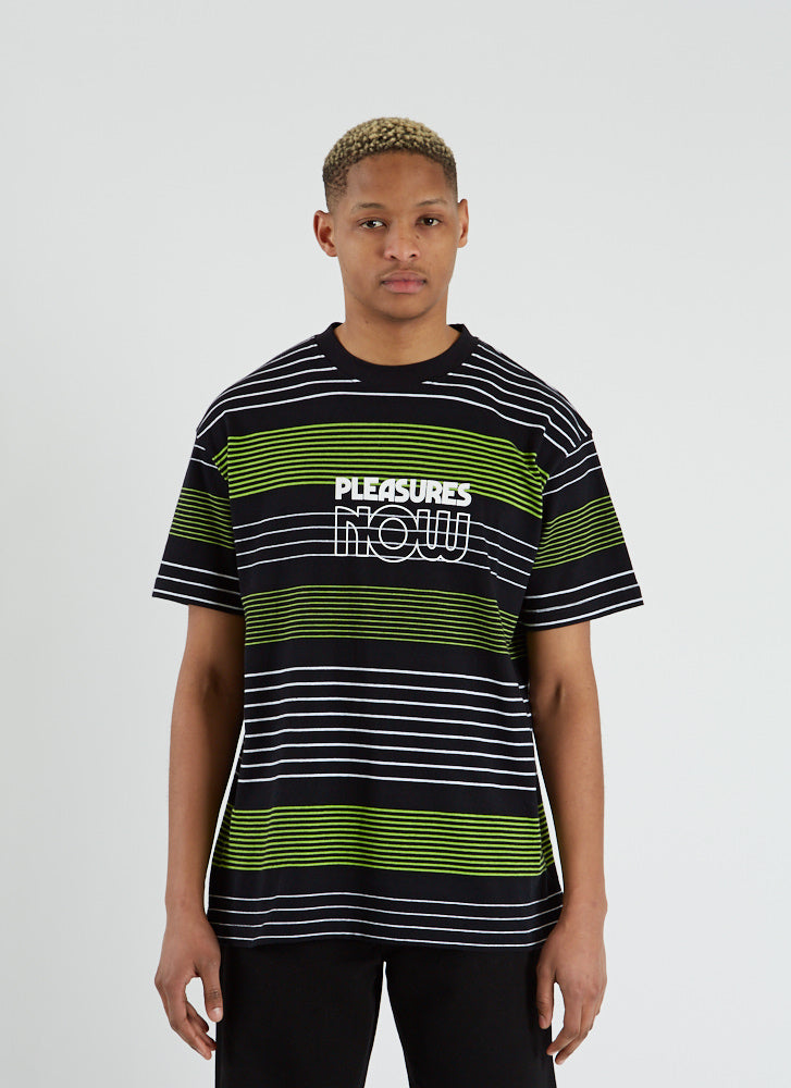 Feedback Striped T-shirt - Black