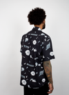 Fake Flowers Camp Shirt - Black