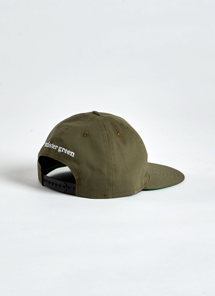 Weed Leaf Cap - Faded Green