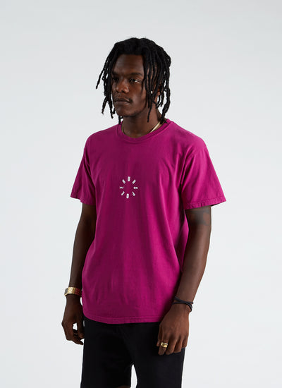 Rotation Tee - Pomegranate
