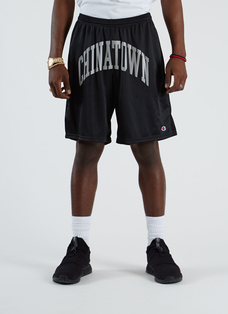Shooter Mesh Shorts - Black