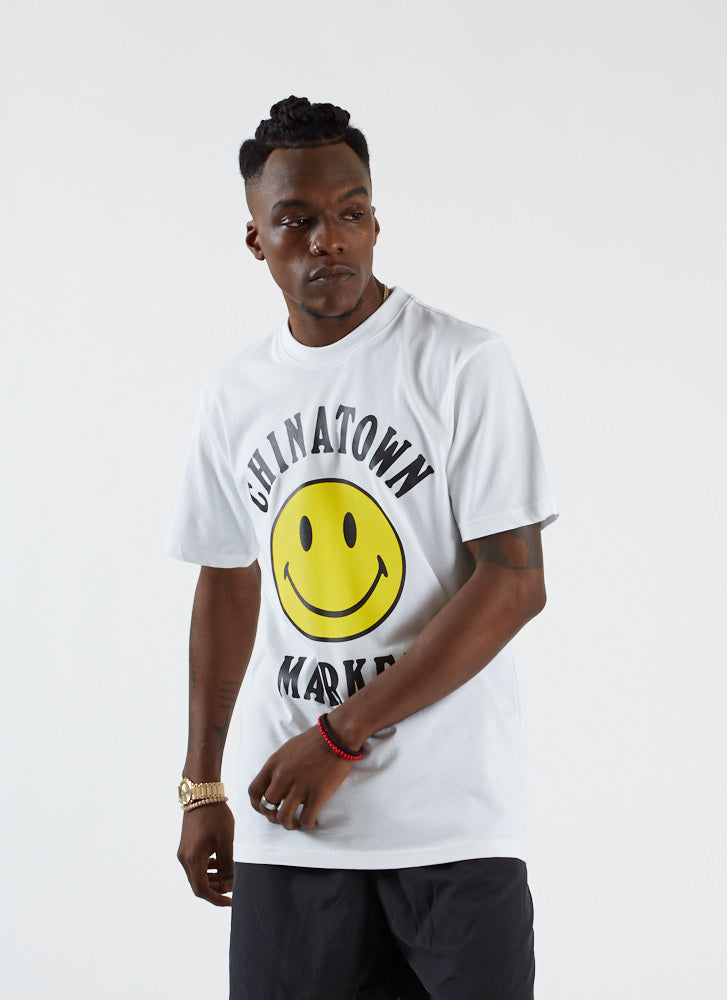 Smiley Logo T-shirt - White