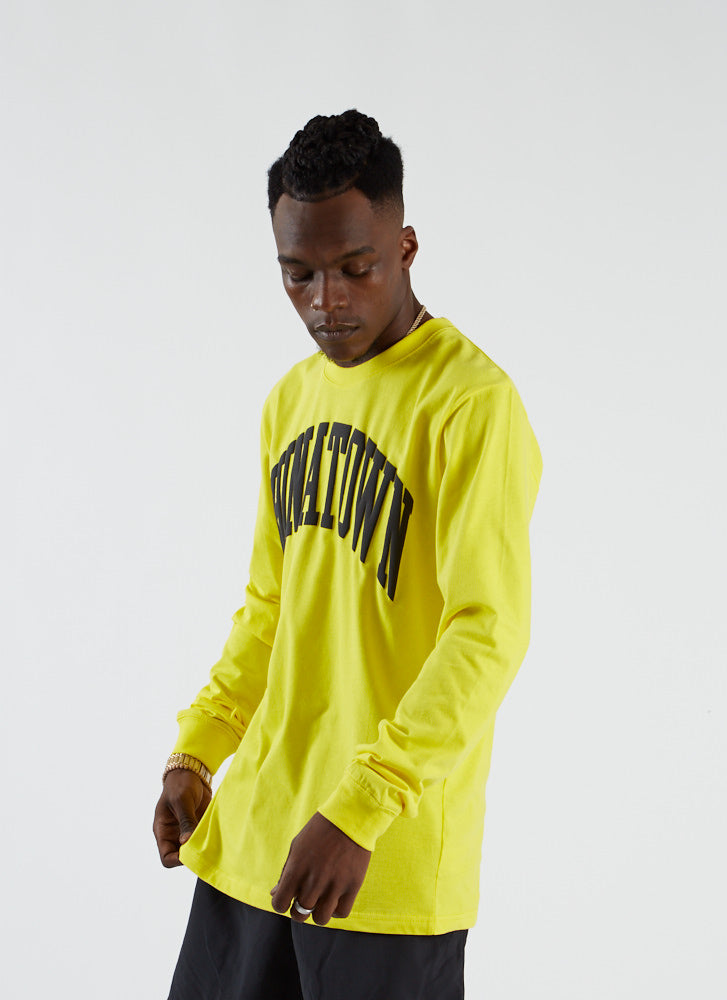 Arc T-shirt L/S - Yellow