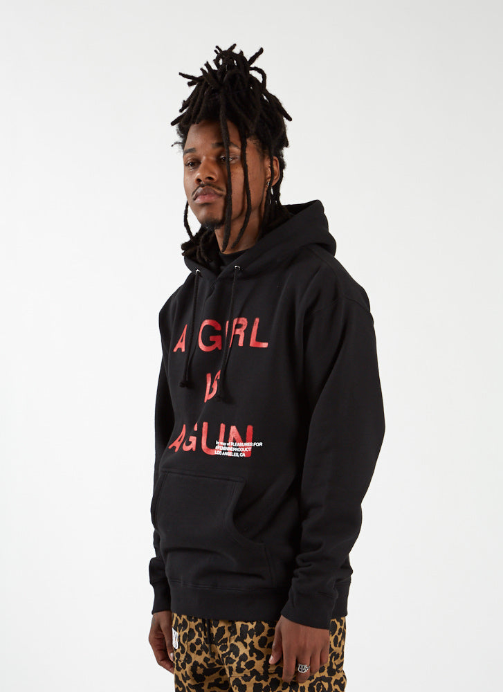 'A Girl is a Gun' Hoodie - Black