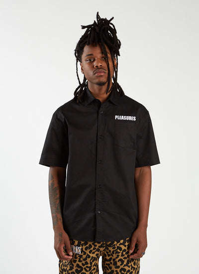 Pleasures x Bob Dylan Transformer Button-Up - Black