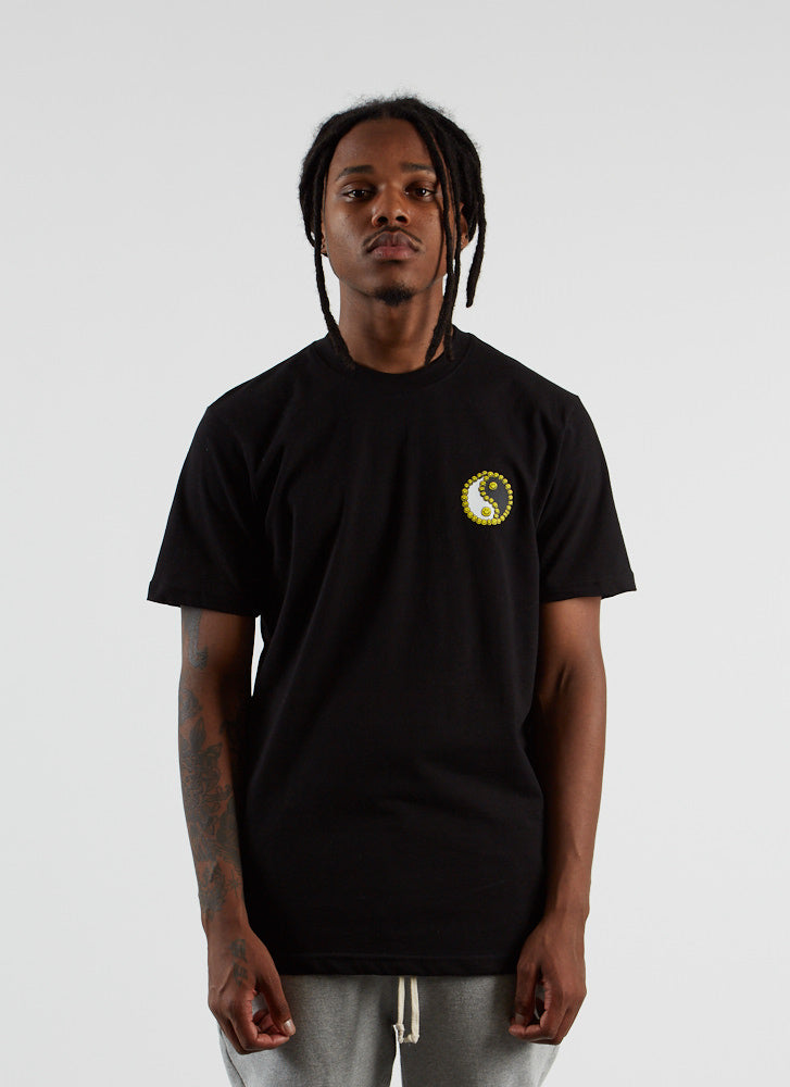 Peace Smiley T-shirt - Black