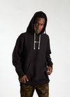 Oversize Fit Hooded Sweatshirt - Black