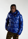 RW Hooded Puffer Jacket - Royal Blue