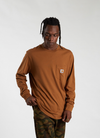 L/S Pocket T-shirt - Hamilton Brown