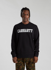 College Sweatshirt - Black