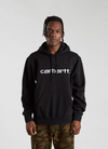 Hooded Carhartt Sweatshirt - Black