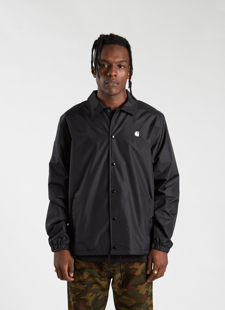 C WIP Coach Jacket - Black