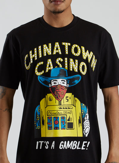 Casino T-shirt - Black