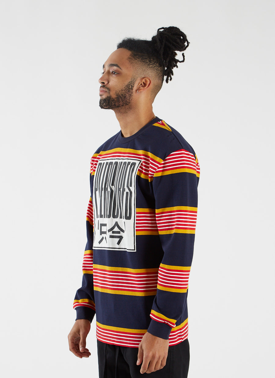 Electronics Striped Longsleeve - Blue
