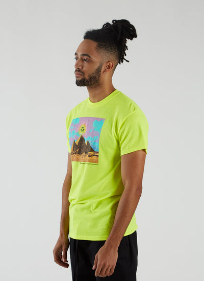 Karma T-shirt - Safety Green