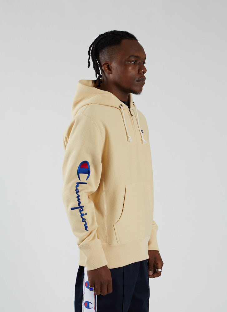 RW Half Zip Sweatshirt - Wheat