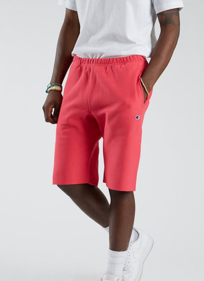 RW Terry Raw Edge Short - Pretty Coral