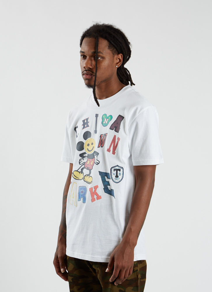 Patchwork T-shirt - White
