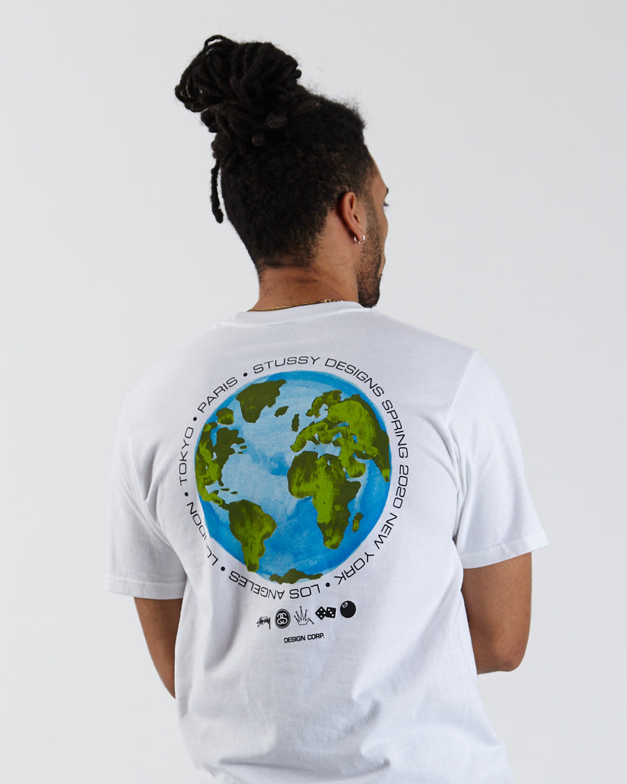 Global Design Corp. Tee - White