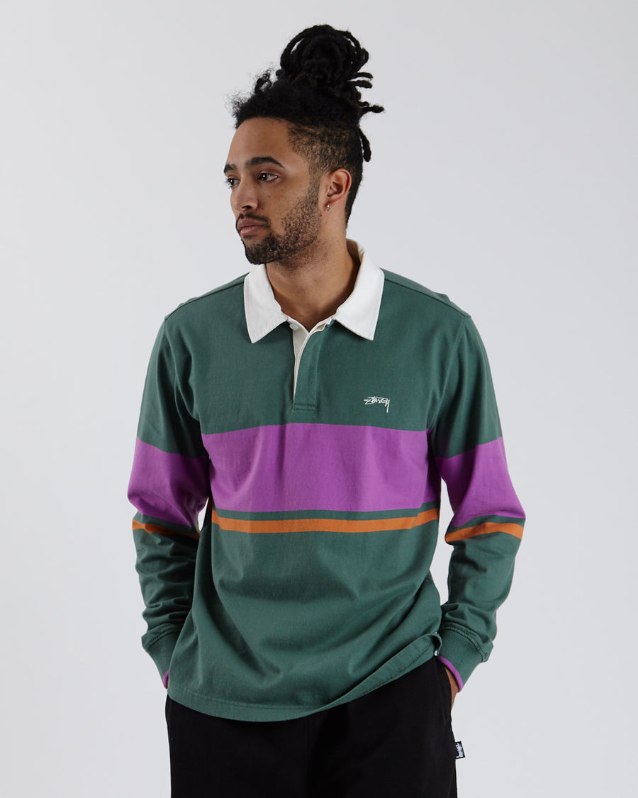 Justin Longsleeve Rugby - Green