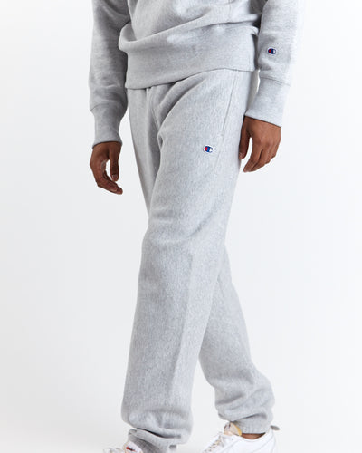 Champion Reverse Weave Elastic Cuff Sweatpants - Grey