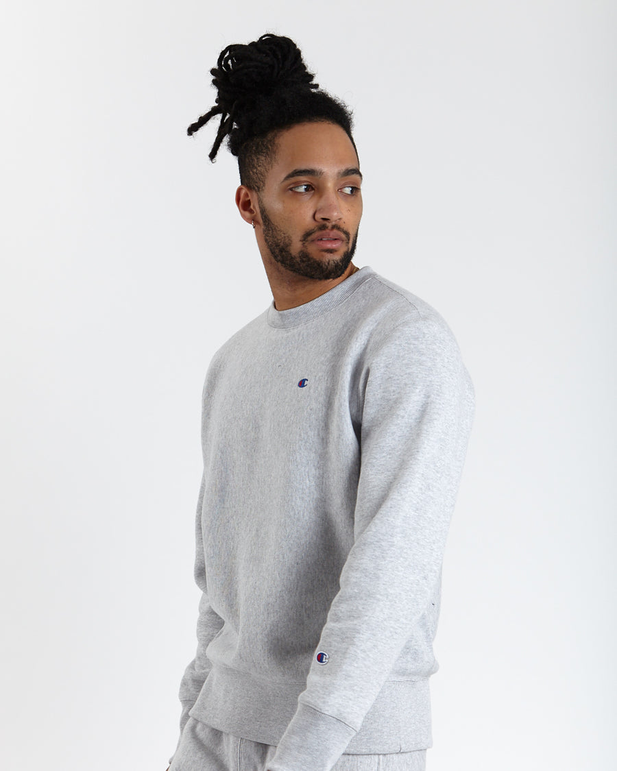 Champion Reverse Weave Crew Sweatshirt - Grey
