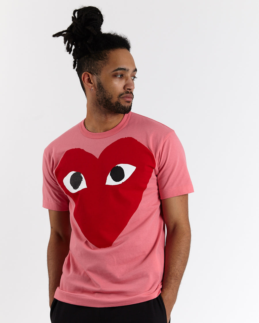 Big Red Heart T-Shirt (Neon)