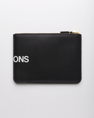 Huge Logo Wallet - BLACK  (SA5100HL)