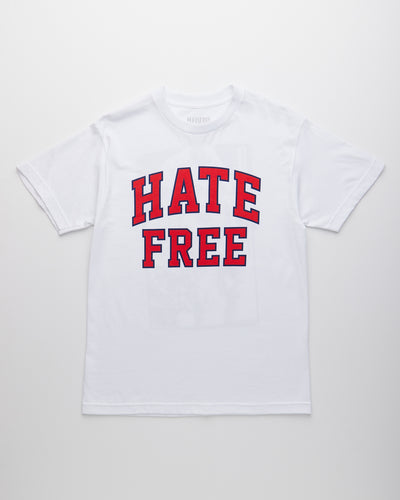 Hate Free T-Shirt - White