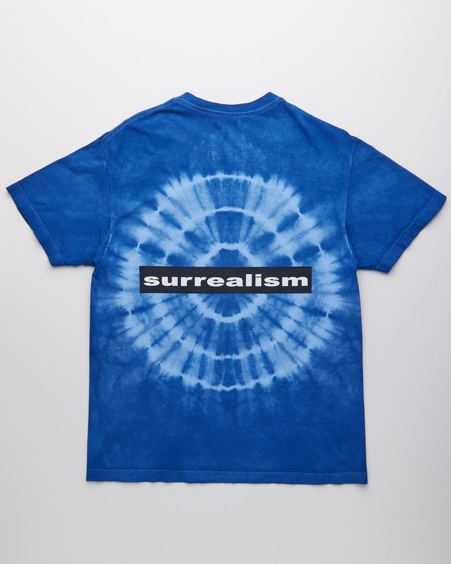 Surrealism Tye Dyed Shirt - Blue