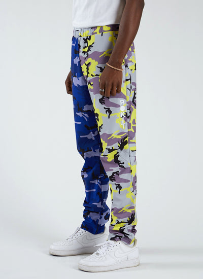 Twister Two Tone Pant - Purple Haze