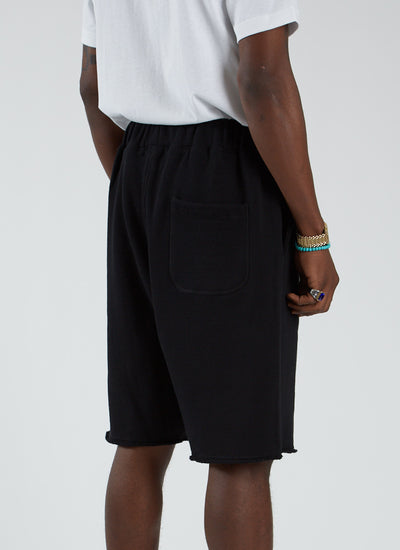 Diver Fleece Short - Black