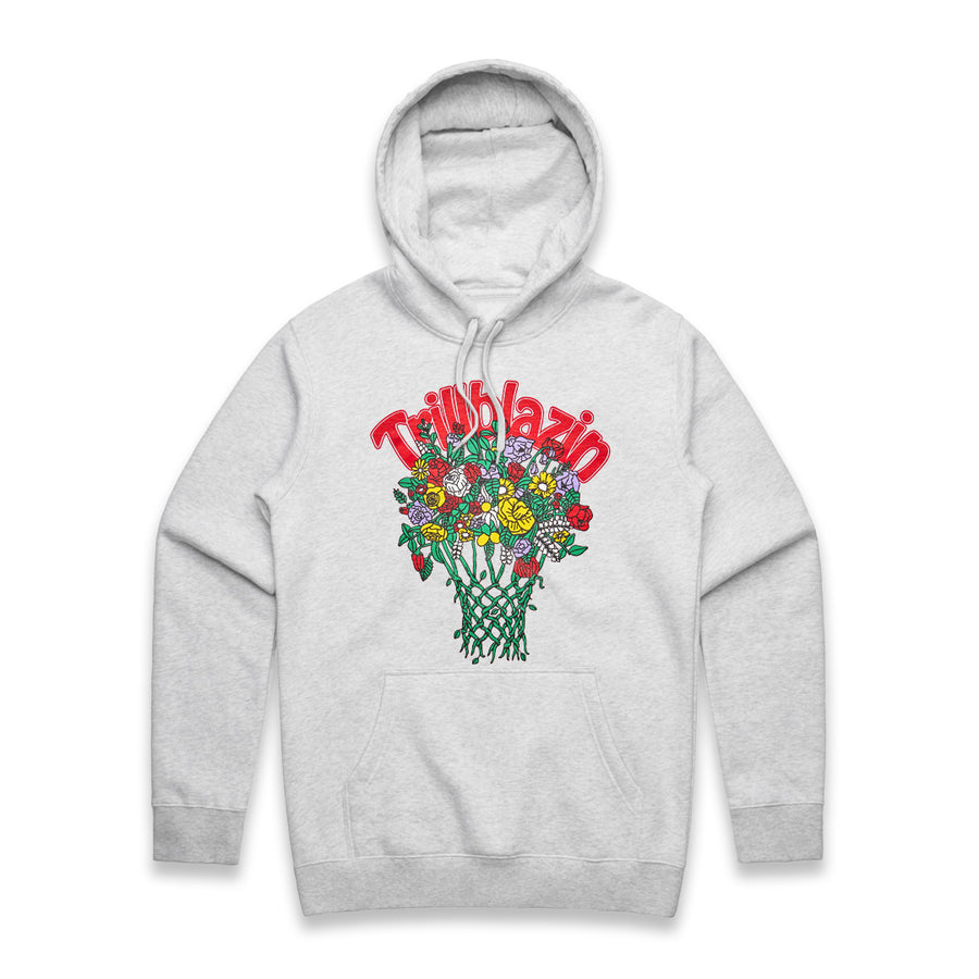 Bball Lover Hoodie - Ash Grey